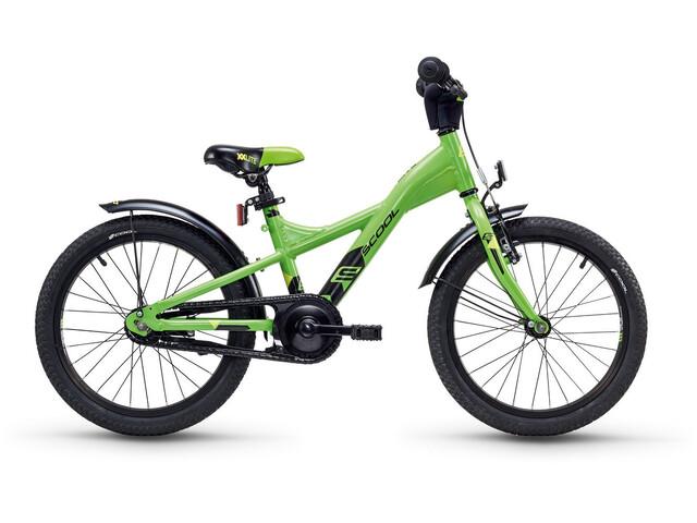 s'cool XXlite 18 - Vélo enfant - alloy vert
